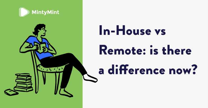 in-house vs remote team