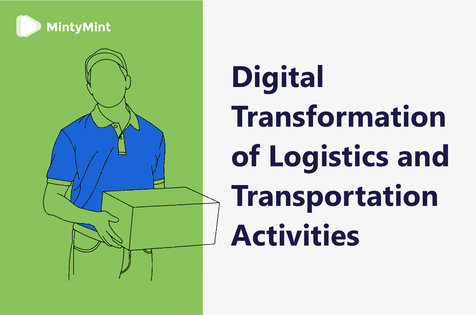 Digital transformation in Logistics cover
