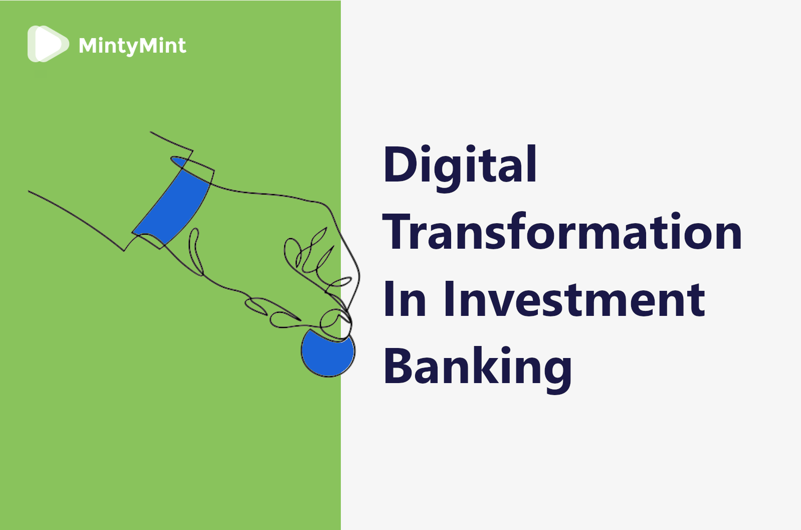 Digital Transformation In Investment Banking Cover
